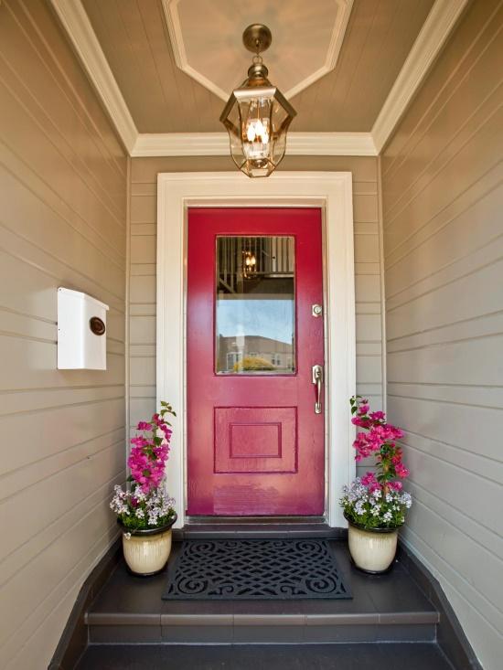 Приветливый вход в дом (после)