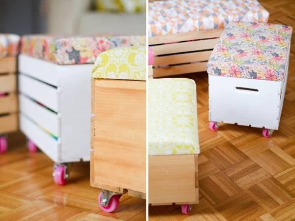 Самодельная полезная мебель для детской