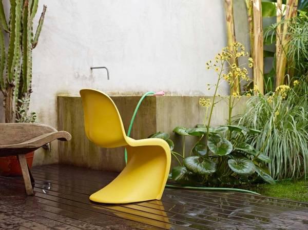 Желтое кресло Panton