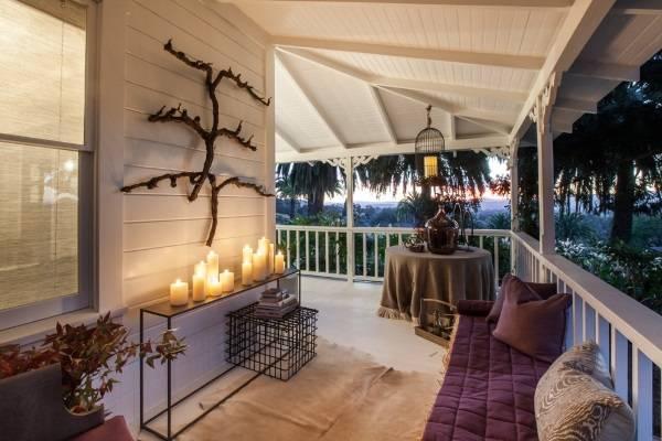 Уютный дизайн веранды