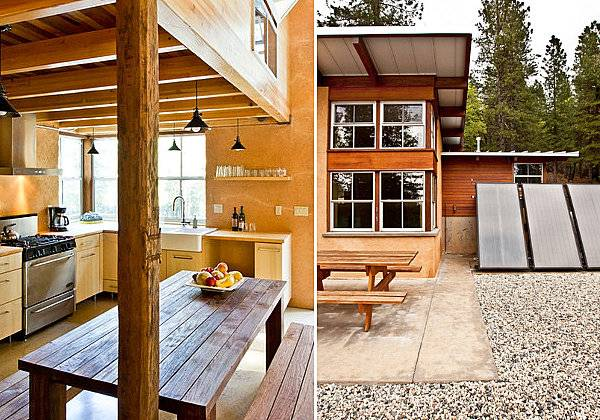 Дом из SIP панелей внутри и снаружи