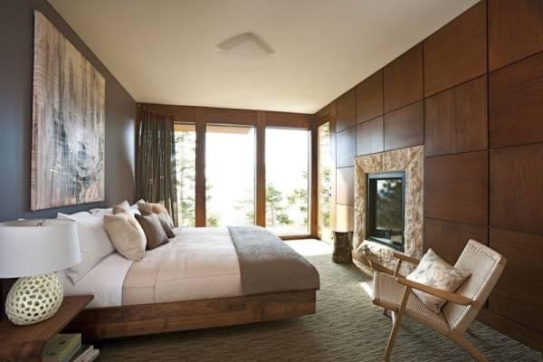 Экологичная спальня в современном стиле
