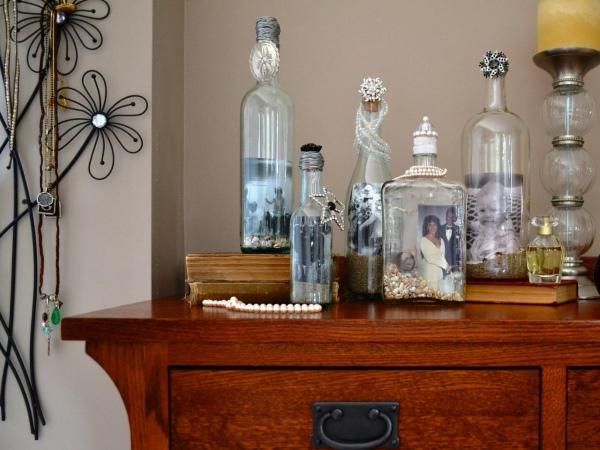 Фотографии в бутылках
