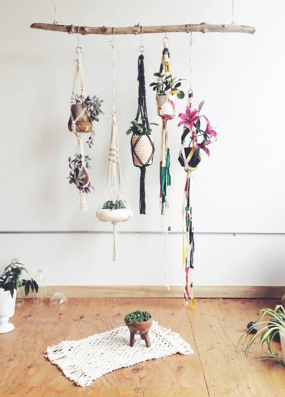 Идея для подвешивания комнатных растений