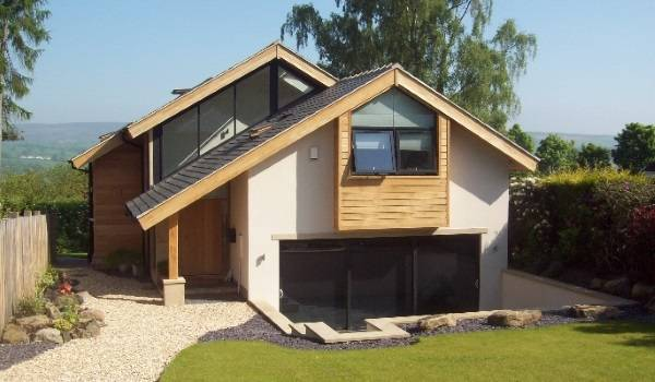 Красивый дом из SIP панелей