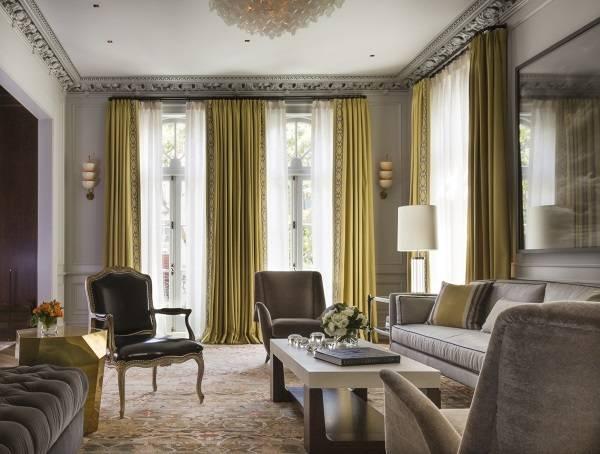Дизайн гостиной в стиле luxury