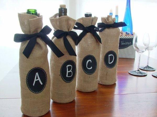 Стильные чехлы для бутылок