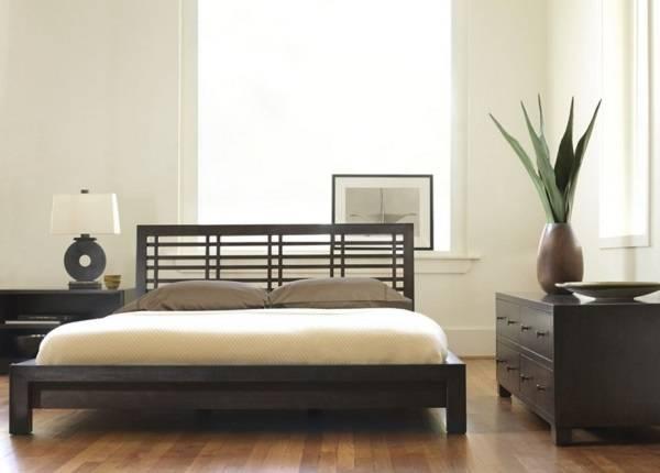 Минимализм и экологичность в спальне
