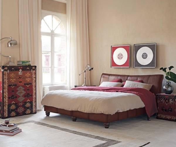 Необычная мебель в дизайне спальни