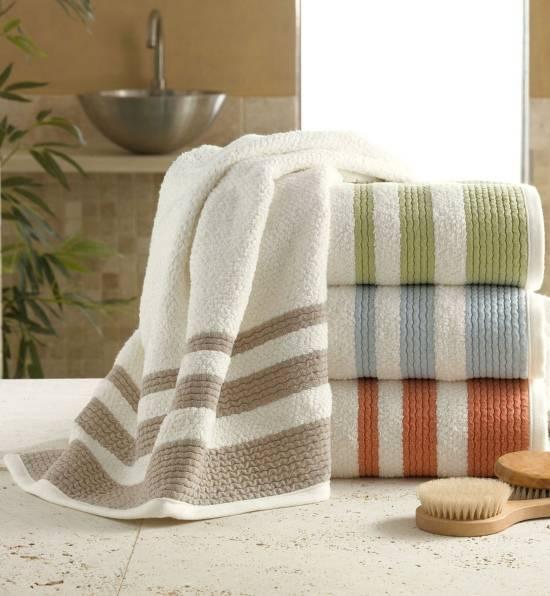 Мягкие полотенца для ванной