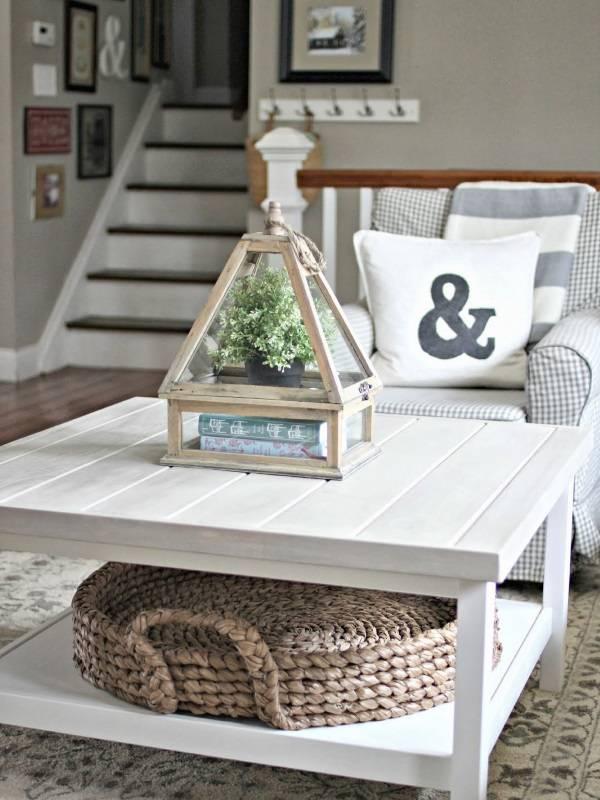Простое и красивое украшение для стола
