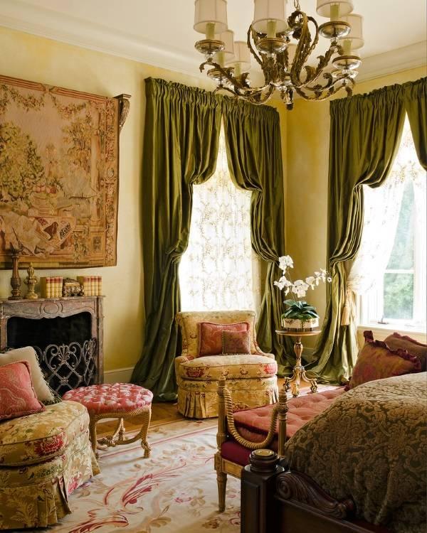 Роскошные итальянские шторы в интерьере