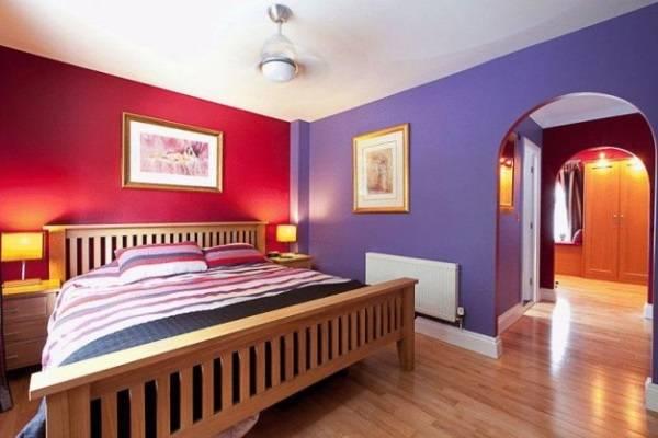Роскошные цвета для стен спальни