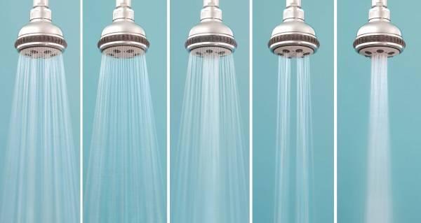 Экономия воды с помощью насадки на душ