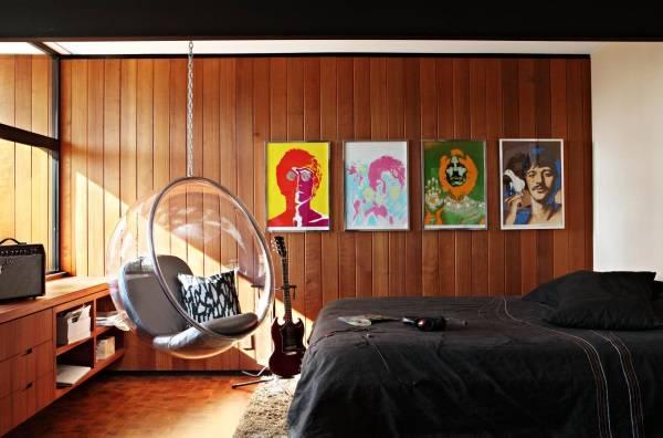 Спальня подростка в стиле 60-х