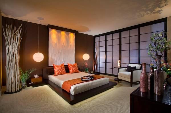 Спальня в китайском стиле