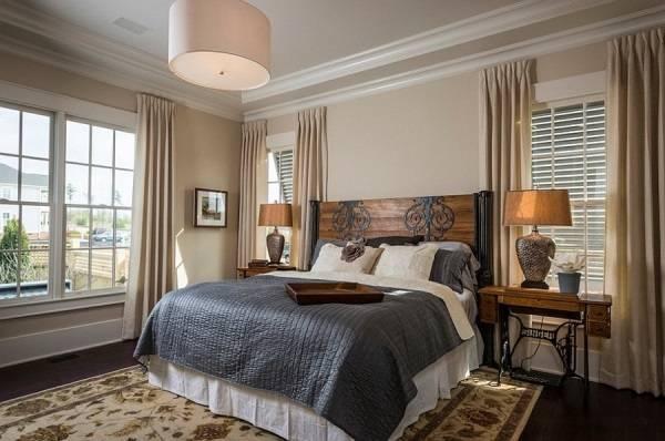 Винтажный стиль спальни