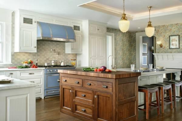 Стиль прованс в дизайне кухни
