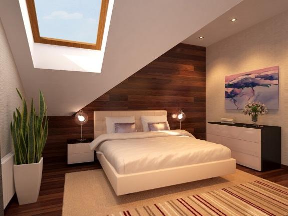 Тещин язык в дизайне спальни