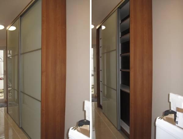 Шкаф купе для маленькой прихожей и коридора