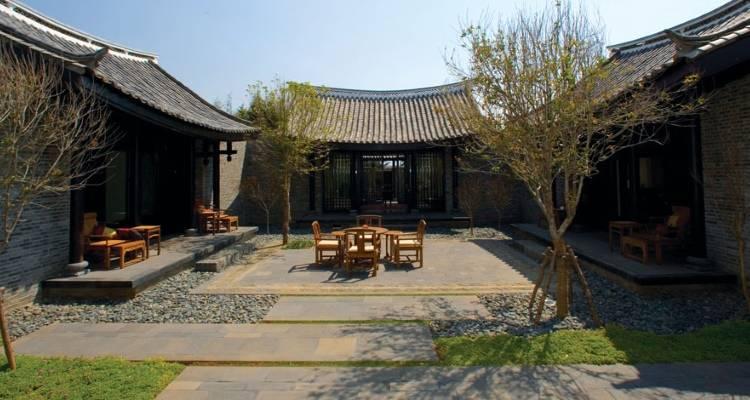 Виллы в отеле Banyan Tree Lijiang