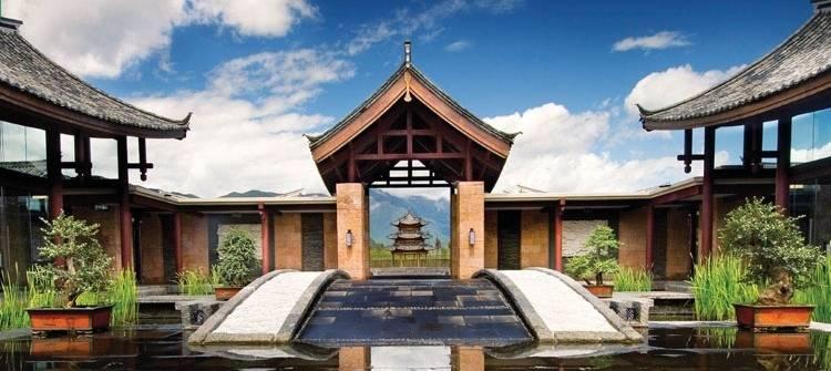 Дизайн отеля Banyan Tree Lijiang