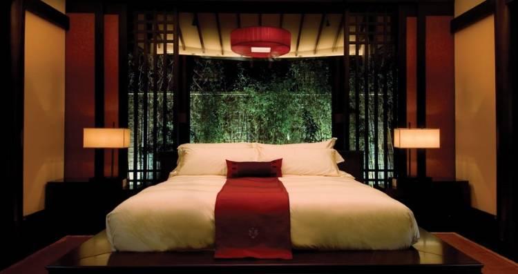 Дизайн спальни в Banyan Tree Lijiang