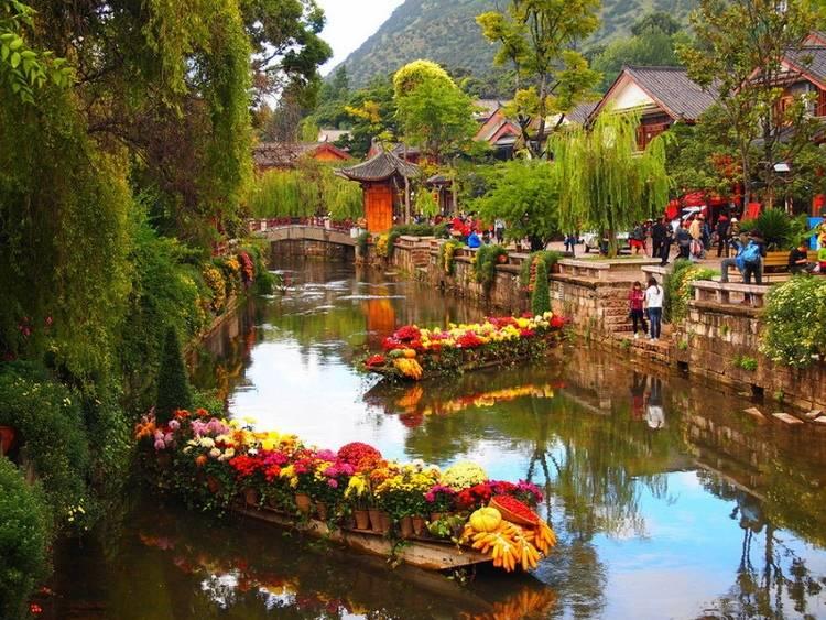 Медовый месяц в Китае