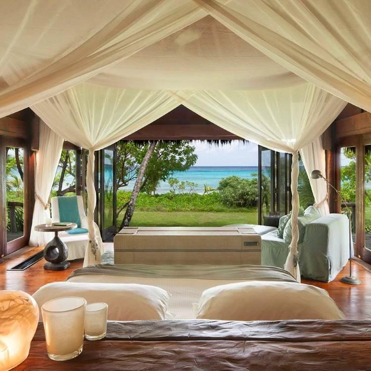 Дизайн спальни в отеле North Island Resort