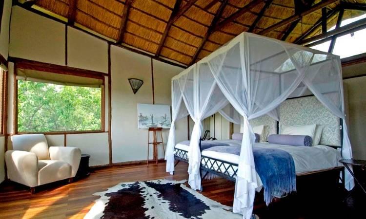 Дизайн спальни в Sanctuary Baines Camp