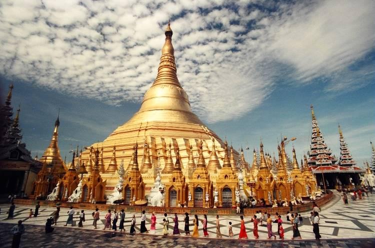 Медовый месяц в Мьянме