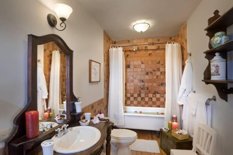Дизайн ванной в Hacienda Zuleta