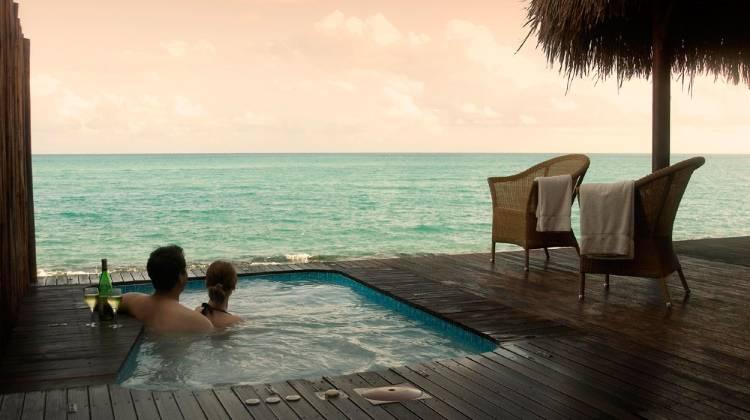 Вид на море в Anantara Medjumbe Island Resort & Spa