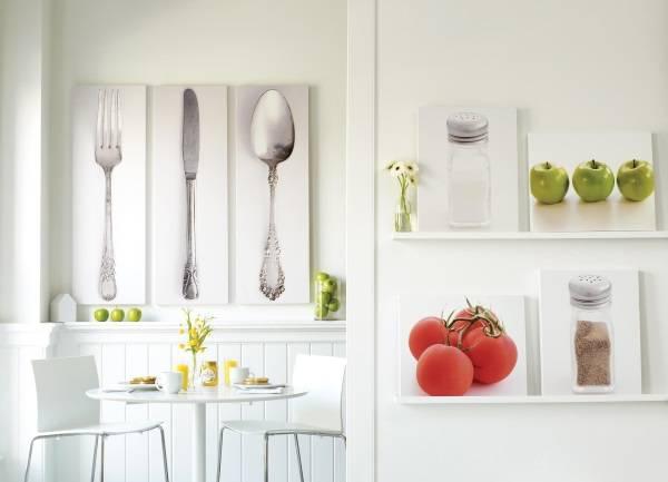 Красивый настенный декор для кухни