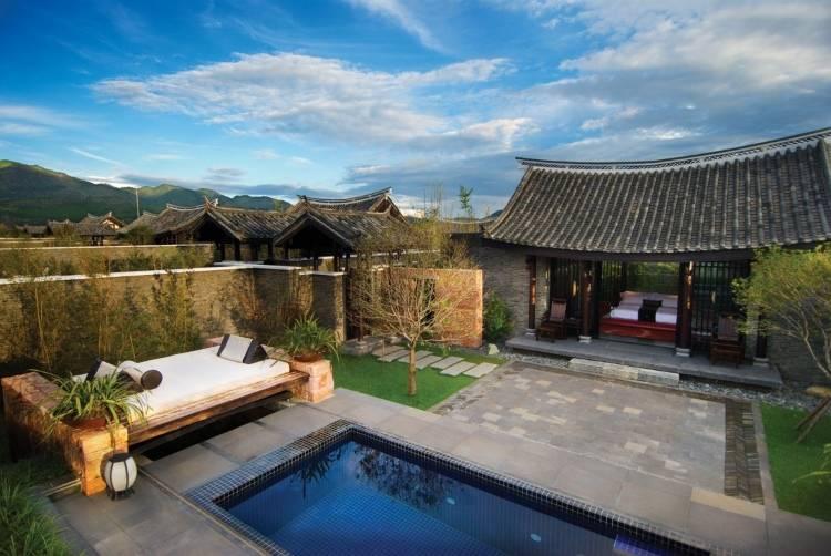 Отель Banyan Tree Lijiang снаружи