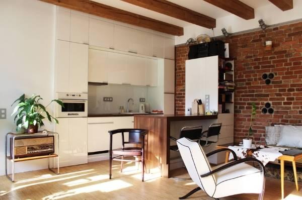 Планировка квартиры студии в стиле лофт