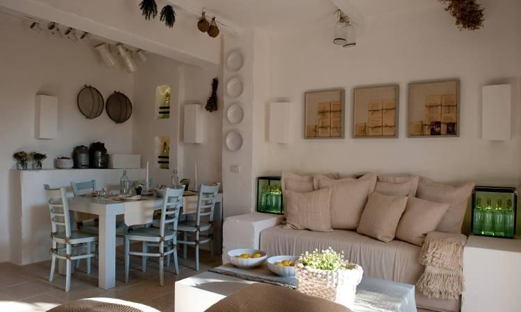 Дизайн интерьера в отеле Borgo Egnazia