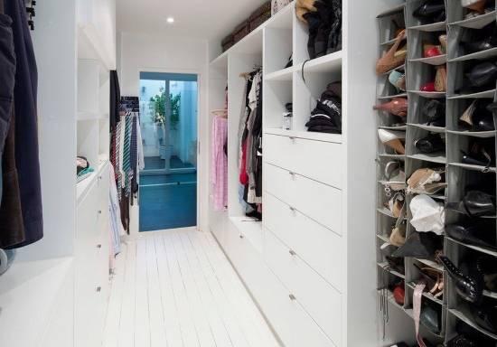 Органайзеры для гардеробной комнаты