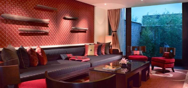 Комнаты в отеле Banyan Tree Lijiang