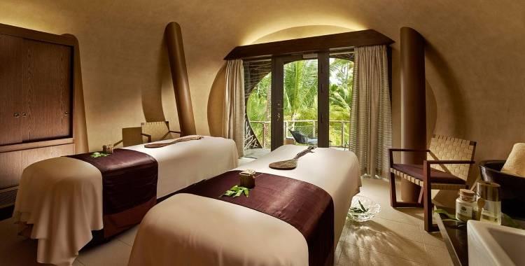 Комната для спа-процедур в отеле The Brando
