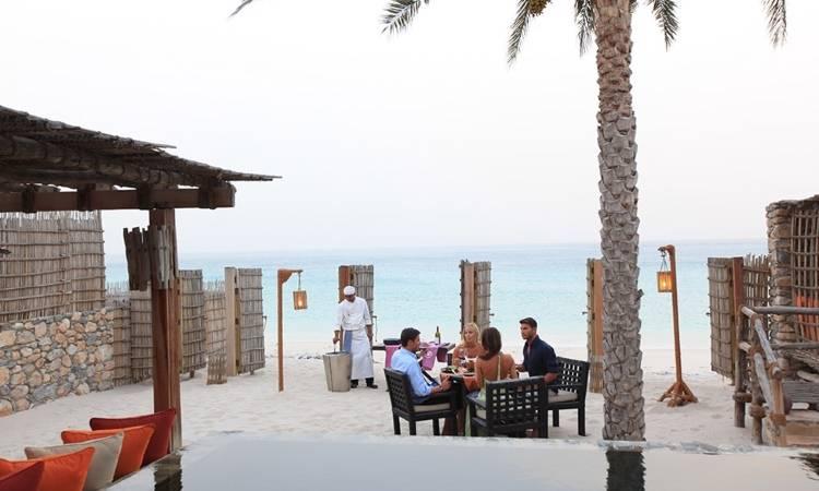 Вид на море из отеля Six Senses Zighy Bay