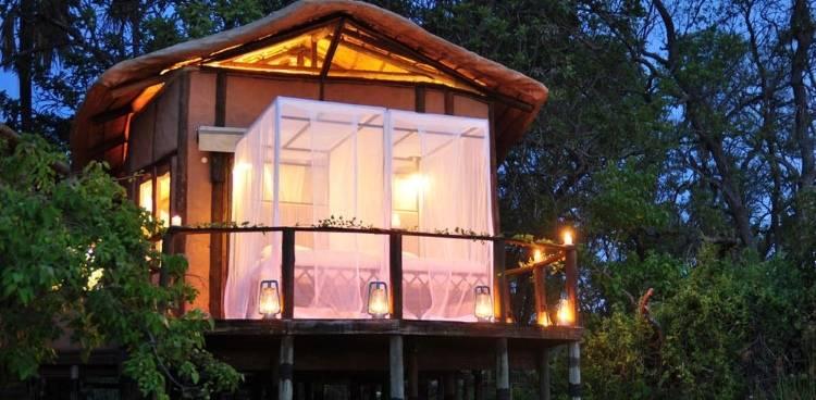 Дизайн виллы в отеле Sanctuary Baines Camp