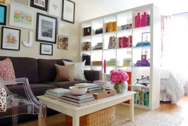Умная планировка комнат в квартире студии