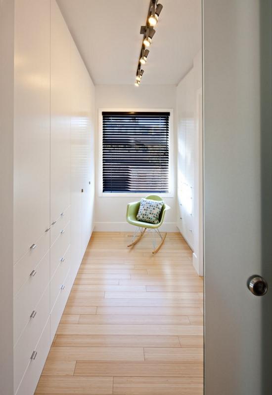 Гардеробная комната в современном стиле