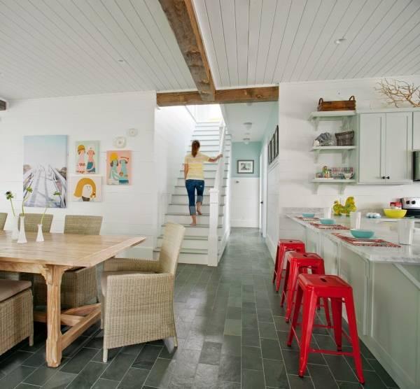 Картины художников как декор стен кухни