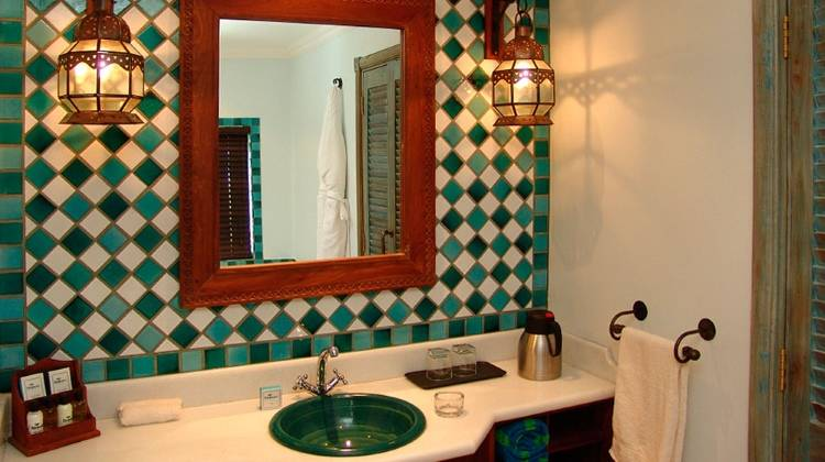 Дизайн ванной в Anantara Medjumbe Island Resort & Spa