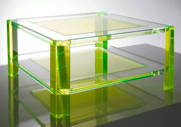 Мебель из цветного акрила