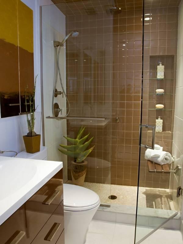 Дизайн маленькой ванной комнаты 2015
