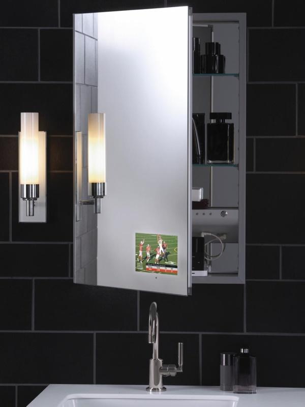 Современная функциональная мебель для ванной комнаты