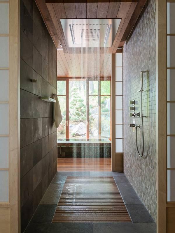 Дизайн ванной комнаты 2015: супер душ